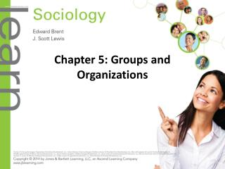 Chapter 5: Groups and Organizations