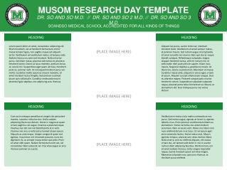 MUSOM RESEARCH DAY TEMPLATE