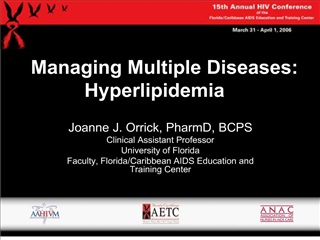 Managing Multiple Diseases: Hyperlipidemia