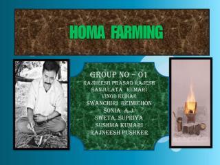 HOMA   FARMING