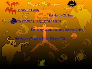 Cheap Sell Ed Hardy Womens Long Hoodie Shirts