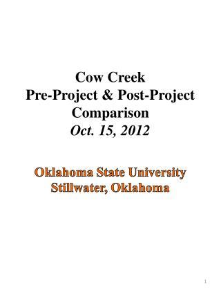 Oklahoma State University Stillwater, Oklahoma