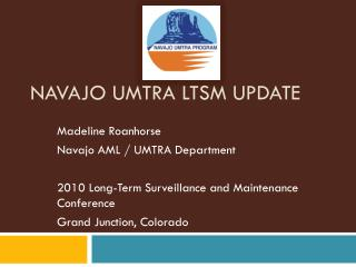 Navajo UMTRA LTSM Update