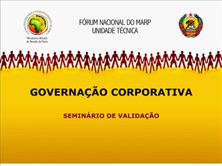 GOVERNA  O CORPORATIVA