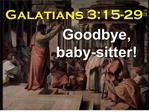 Galatians 3:15-29