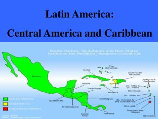 Latin America:  Central America and Caribbean