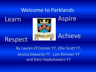 Welcome to Parklands