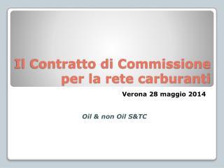 Il Contratto di Commissione per la rete carburanti