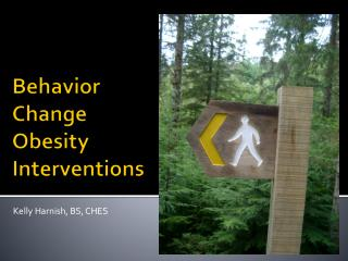 Behavior Change  Obesity Interventions