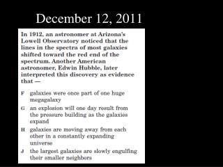 December 12, 2011