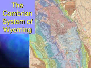 The Cambrian System of Wyoming