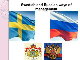 Swedish and Russian ways of management