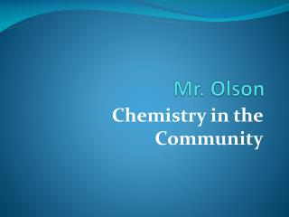 Mr. Olson