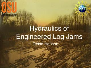 Hydraulics of Engineered Log Jams