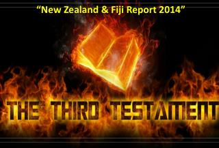 """New Zealand & Fiji Report 2014"""