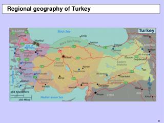 Regional geography of Turkey