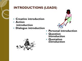 INTRODUCTIONS (LEADS )