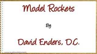 ppt 6320 Model Rockets