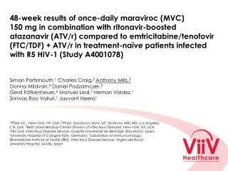 Rationale for MVC + boosted PI regimen