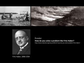 Fritz Haber, 1868-1934