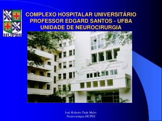 COMPLEXO HOSPITALAR UNIVERSIT