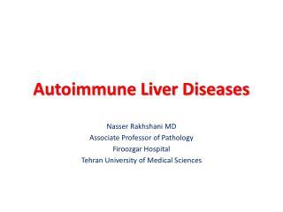 Autoimmune Liver Diseases