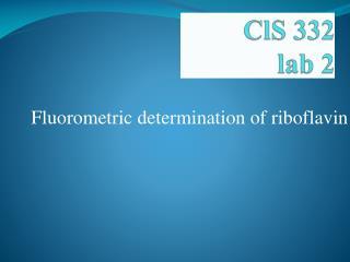 ClS  332 lab 2