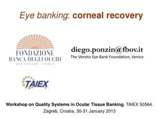 Eye  banking :  corneal recovery