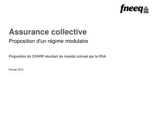 Assurance collective