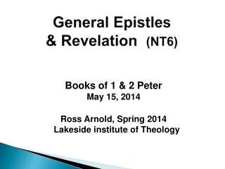 General Epistles & Revelation   (NT6)