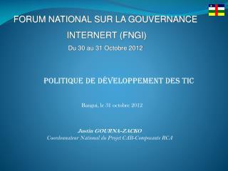 Politique de développement des TIC