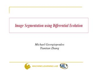 Image  Segmentation  using Differential Evolution
