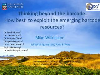 Thinking beyond the  barcode:  How  best  to exploit the emerging barcode resources?