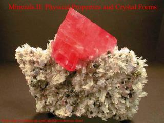 Minerals II: Physical Properties and Crystal Forms