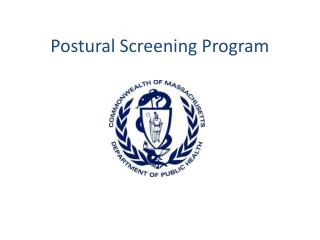 Postural Screening Program