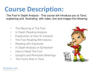 Course Description: