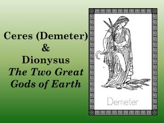 the two great gods of the earth summary Roots of african myths and legends the sahara runs from east to west across the widest part of africa, a vast desert dividing the continent into two main regions.
