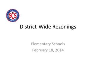 District-Wide Rezonings