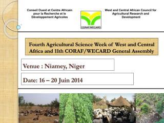 Venue  : Niamey ,  Niger
