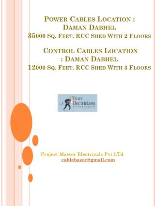 Project Master Electricals Pvt  LTd cablebazar@gmail.com