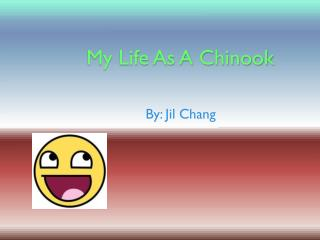 My Life As A Chinook