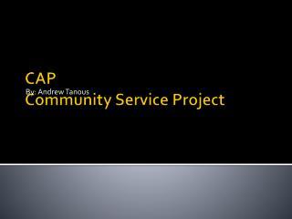 CAP  C ommunity  S ervice Project