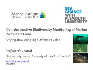 Non-destructive Biodiversity Monitoring of Marine Protected Areas