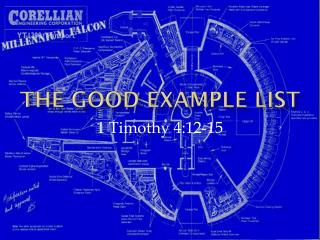 The  Good Example List