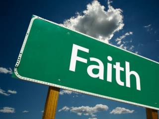 Hebrews 11:1 - Now faith is the  substance  of things hoped for, the evidence of things not seen .