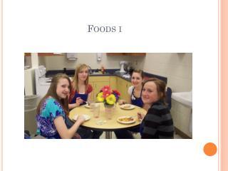 Foods  i