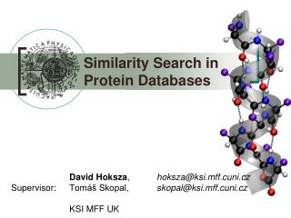 Similarity Search in        Protein Databases