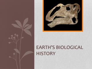 Earth's Biological history