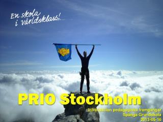 PRIO Stockholm