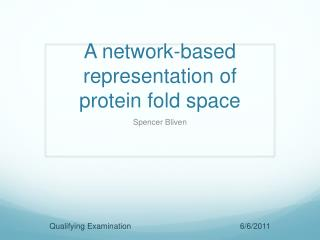 A network-based representation of protein fold space